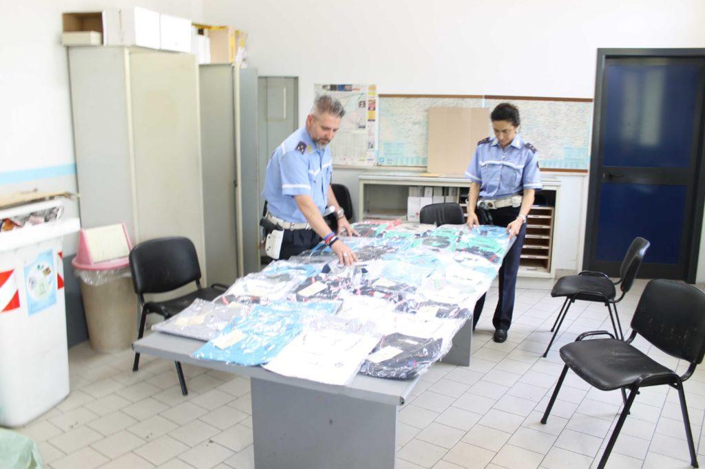 La polizia locale di Sesto scopre un laboratorio clandestino
