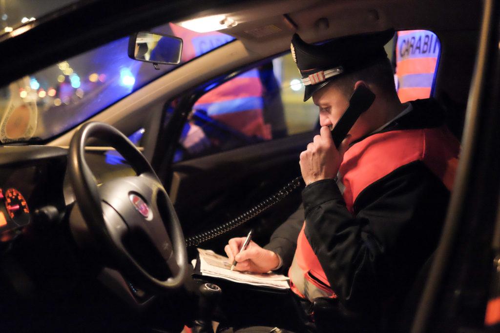 carabinieri notte controlli inverno