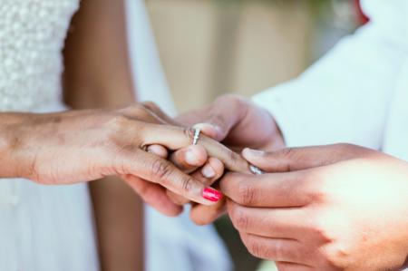 Matrimonio, foto simbolica