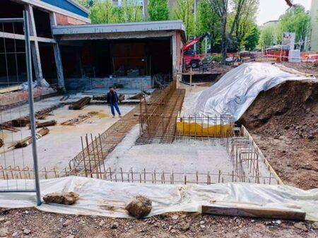 piscina de gregorio lavori