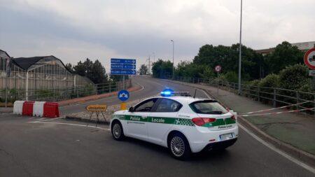 ponte paderno dugnano chiuso