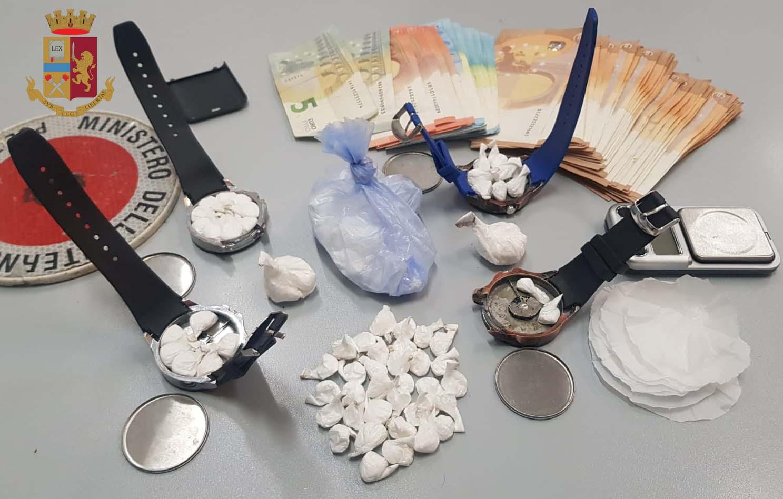 orologi da polso cocaina milano