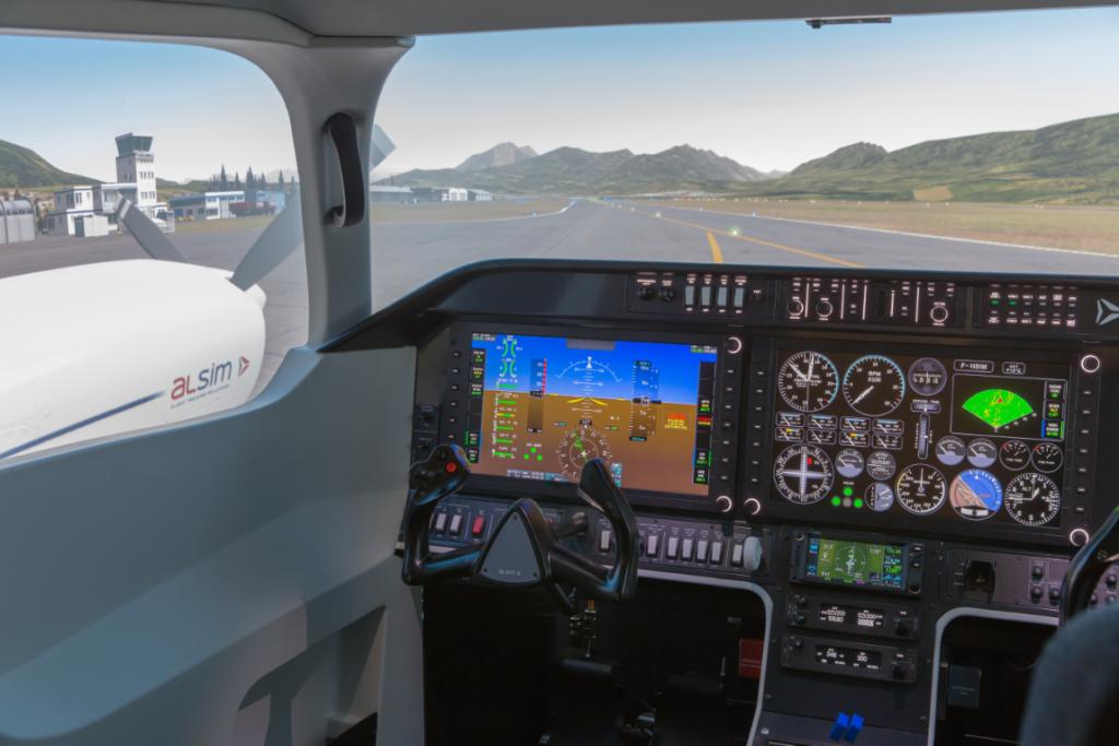 aero club milano simulatore