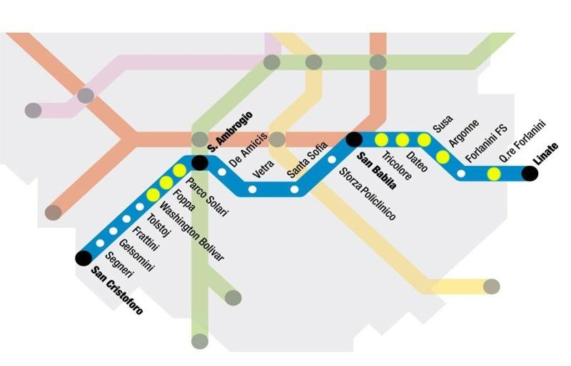 m4 metropolitana blu