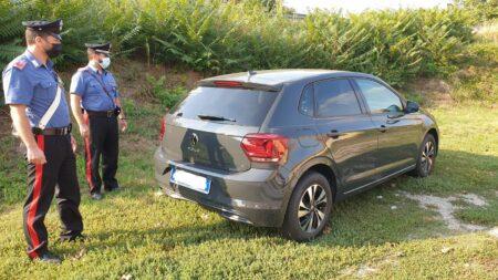30enne scomparso vettura