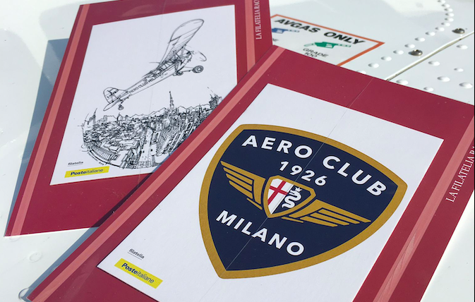 poste italiane aero club milano